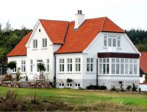 Bøjsø Døre & Vinduer -Energi-neutralt vindue med ægte, tynde sprosser og kitfals